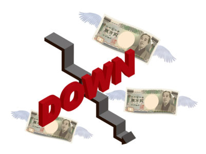資産価値の下落